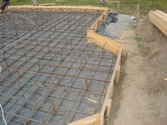 заливка бетона и армирование цена москва