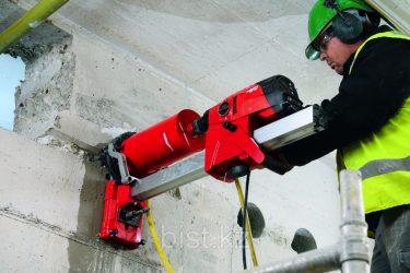Пробурить отверстие в бетоне цена москва подвижность раствора цементного