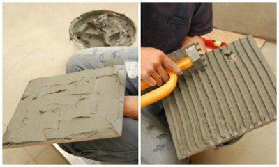 Можно ли класть плитку на цементный раствор?