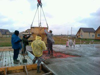 Можно ли заливать бетон в дождь?