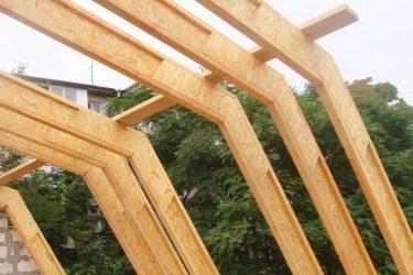 Деревянные двутавровые балки перекрытия своими руками
