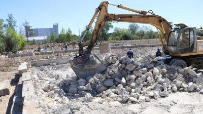 Утилизация бетонных отходов