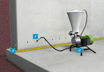Инъекция бетона купить оборудование таблица плотностей бетона