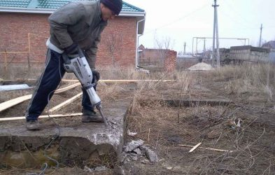Раздолбить бетон цена марки песчано цементного раствора