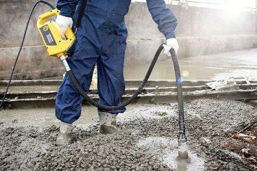 Вибрирование бетона чем купить анкер для бетона в леруа мерлен
