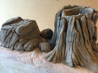 скульптурный бетон купить