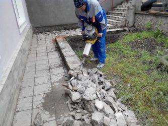 Раздолбить бетон цена как рассчитать количество гравия для бетона