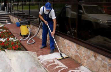Очистка тротуарной плитки от цементного раствора документ о составе бетонной смеси