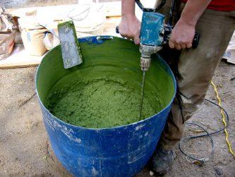 Окрасить цементный раствор миксер барнаул бетон