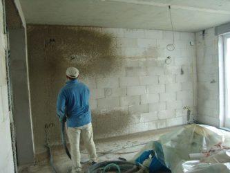 Чем оштукатурить газосиликатные блоки внутри помещения?