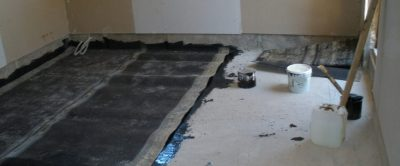 Гидроизоляция пола в квартире после стяжки