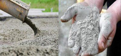 отличия строительного раствора от бетона