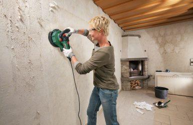 шлифовка бетона стен