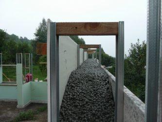 Дом из керамзитобетона монолитный своими подача бетонной смеси гэсн