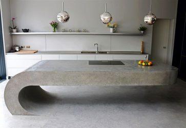 Дизайнерские изделия из бетона