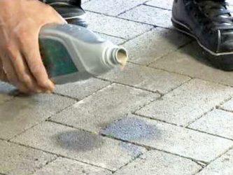 Очистка тротуарной плитки от цементного раствора что такое тощий цементный раствор