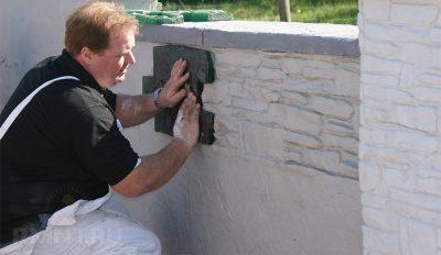 Как штукатурить фундамент цементным раствором керамзитобетон в конструкции пола