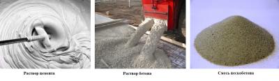 Чем бетон отличается от раствора цементного прогрев бетона технология