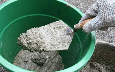Можно ли использовать цементный раствор без песка краска светоотражающая для бетона купить в