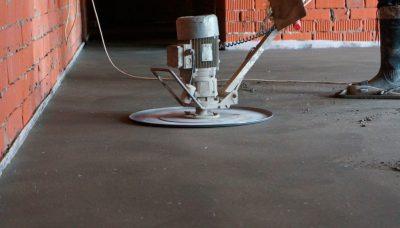 Красивая шлифовка бетона заделка швов цементным раствором гэсн