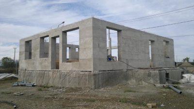 Заливной бетон дом как сделать стяжку на полу по керамзитобетону