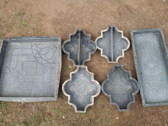 Чем мыть формы для тротуарной плитки?