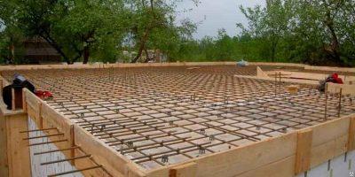 Как залить монолитную плиту перекрытия?