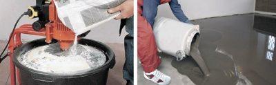 Пва и цементный раствор сколоть бетон