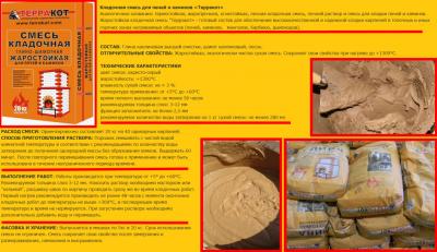 Как правильно приготовить раствор для кладки печи?