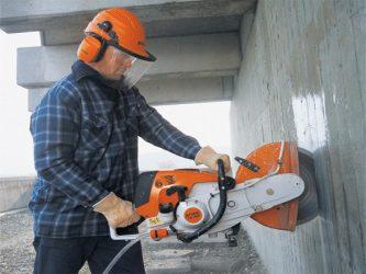 Чем режут бетон зола древесная в цементный раствор