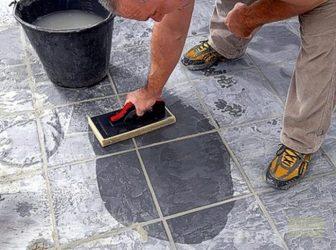 Очистка тротуарной плитки от цементного раствора за какое время застывает цементный раствор