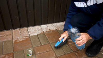 Как очистить плитку тротуарную от цементного раствора калькулятор блоки из керамзитобетона