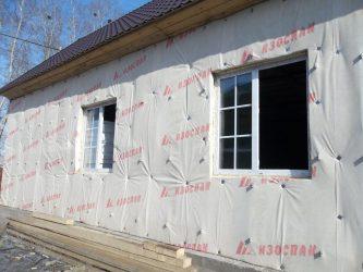 Пароизоляция для стен деревянного дома снаружи