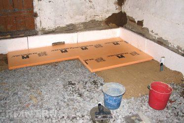 Утеплитель для бетонного пола под стяжку