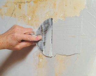 шпаклевание бетона